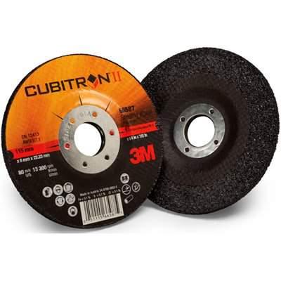 Caixa com 25 discos de corte inox