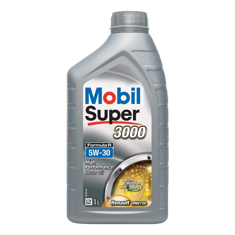 MOBIL SUPER 3000 Formula R C4 5W30