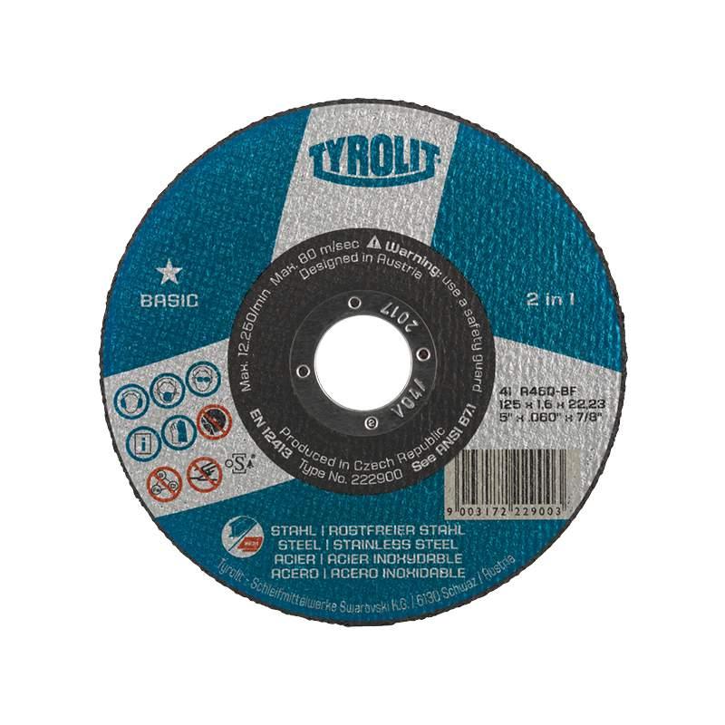 Caixa de 25 Discos de corte BASIC - 2em1