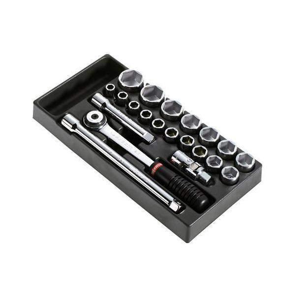 """Módulo de chaves de caixa 1/2"""" sextavados métrico"""