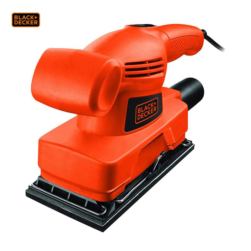 Lixadora orbital 1/3 FOLHA 135W - Black and decker - KA300-QS