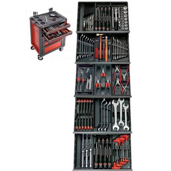 Seleção de 134 ferramentas - FACOM CM.145PB