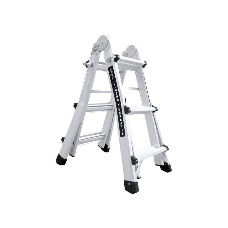 Escada multiusos de aluminio 3 degraus