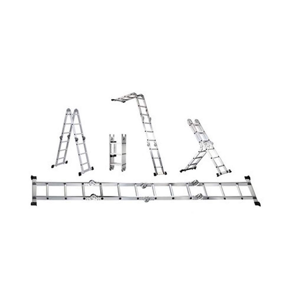Escada de alumínio 4x4 polivalente 4.72mts