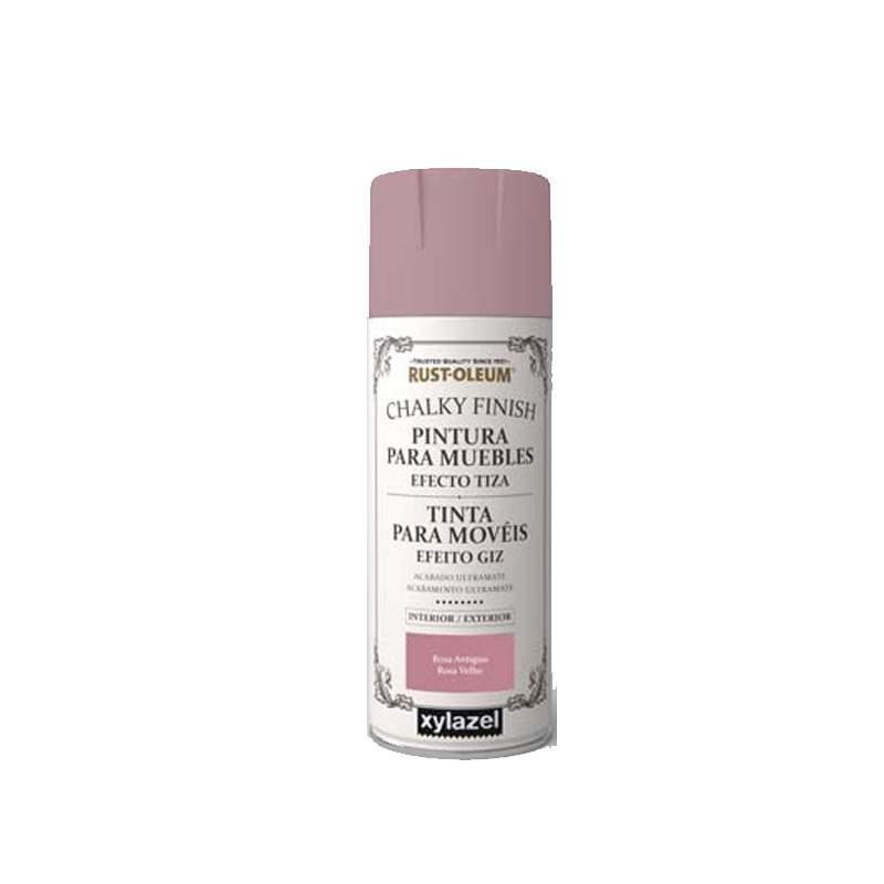 Tinta em spray para móveis Efeito Giz Rust-Oleum Chalk Xylazel 400ml