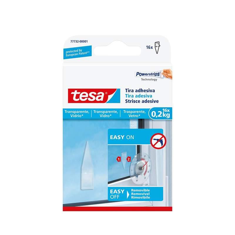 tesa® Tira adesiva para material transparente e vidro 0,2kg